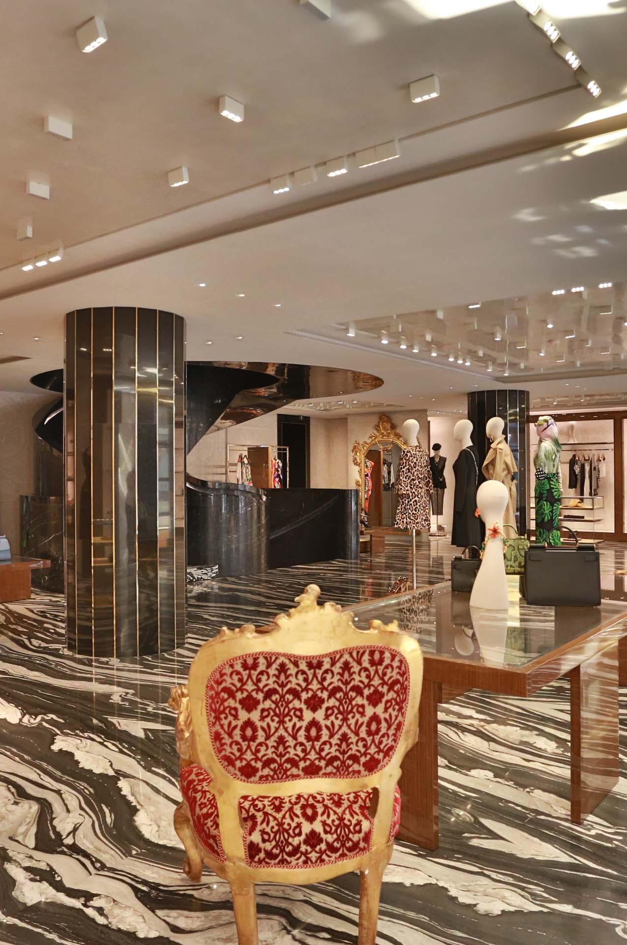London Store interior